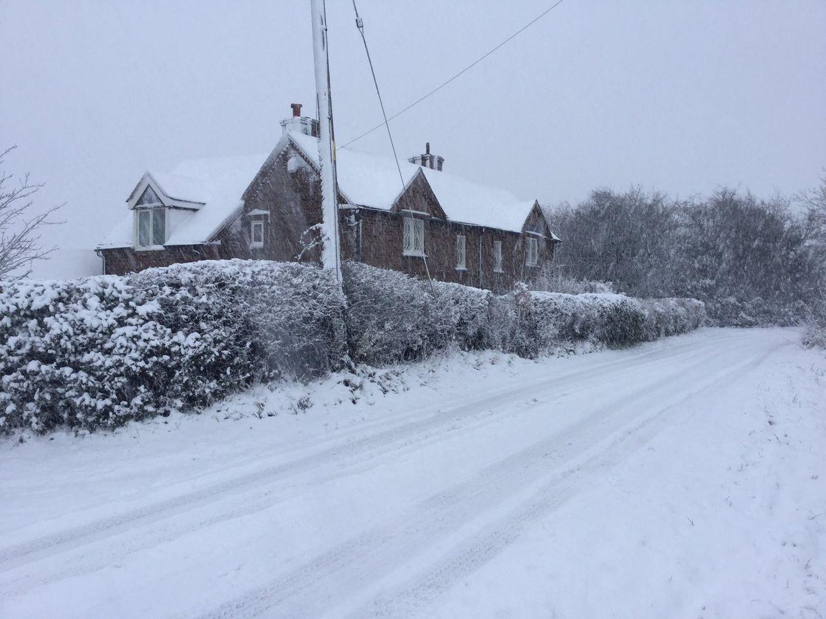 Snow at Benthall from Jules Dyay