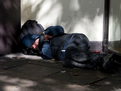 Telford rough sleepers 'better served than anywhere else'