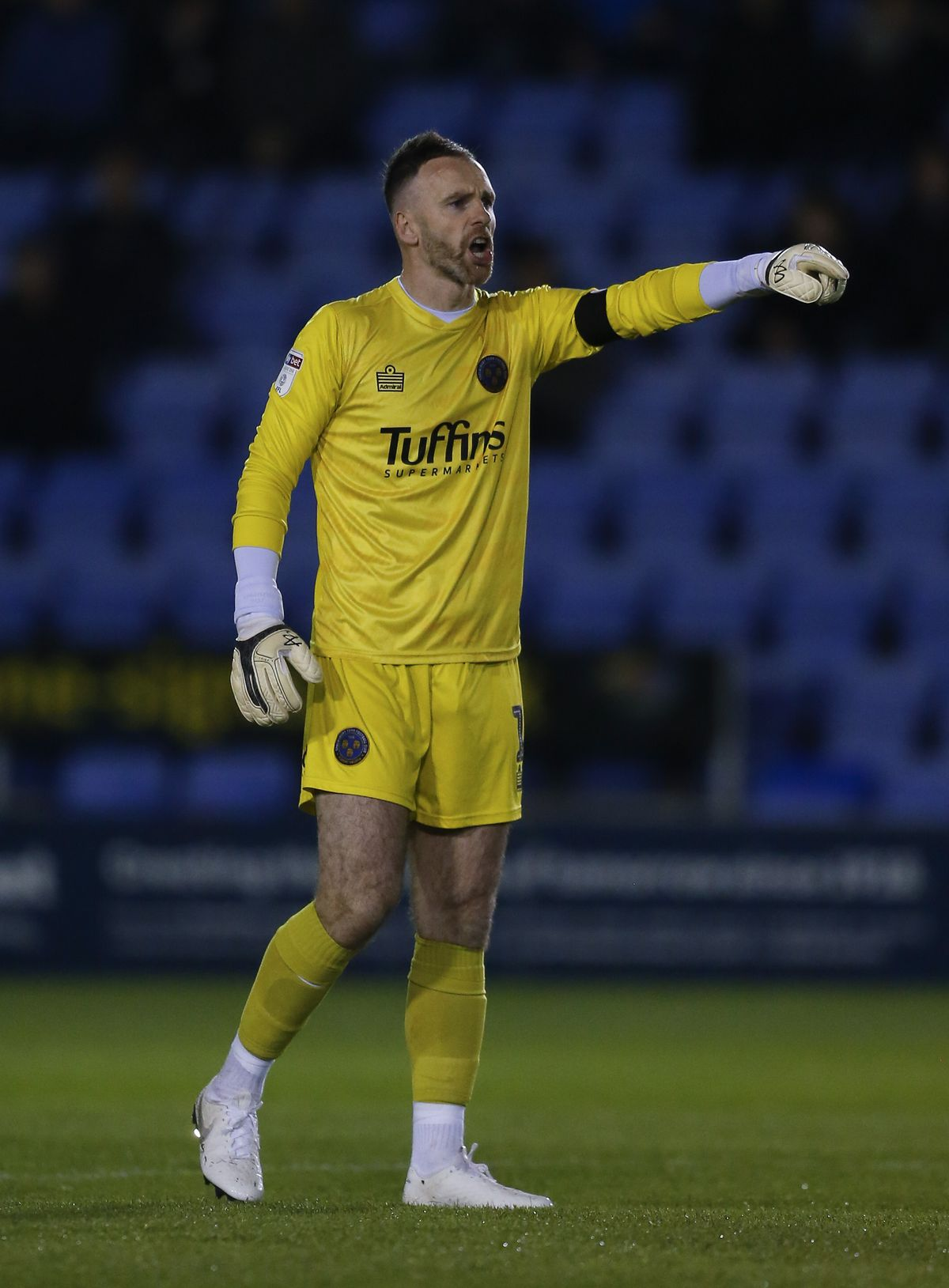 Joe Murphy will be in goal for Shrewsbury in Saturday's FA Cup tie at Bristol City (AMA)