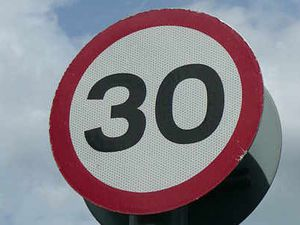 No limit? 30mph signs have to be removed to catch speeding drivers