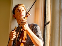 Violinist returns to his Shropshire roots