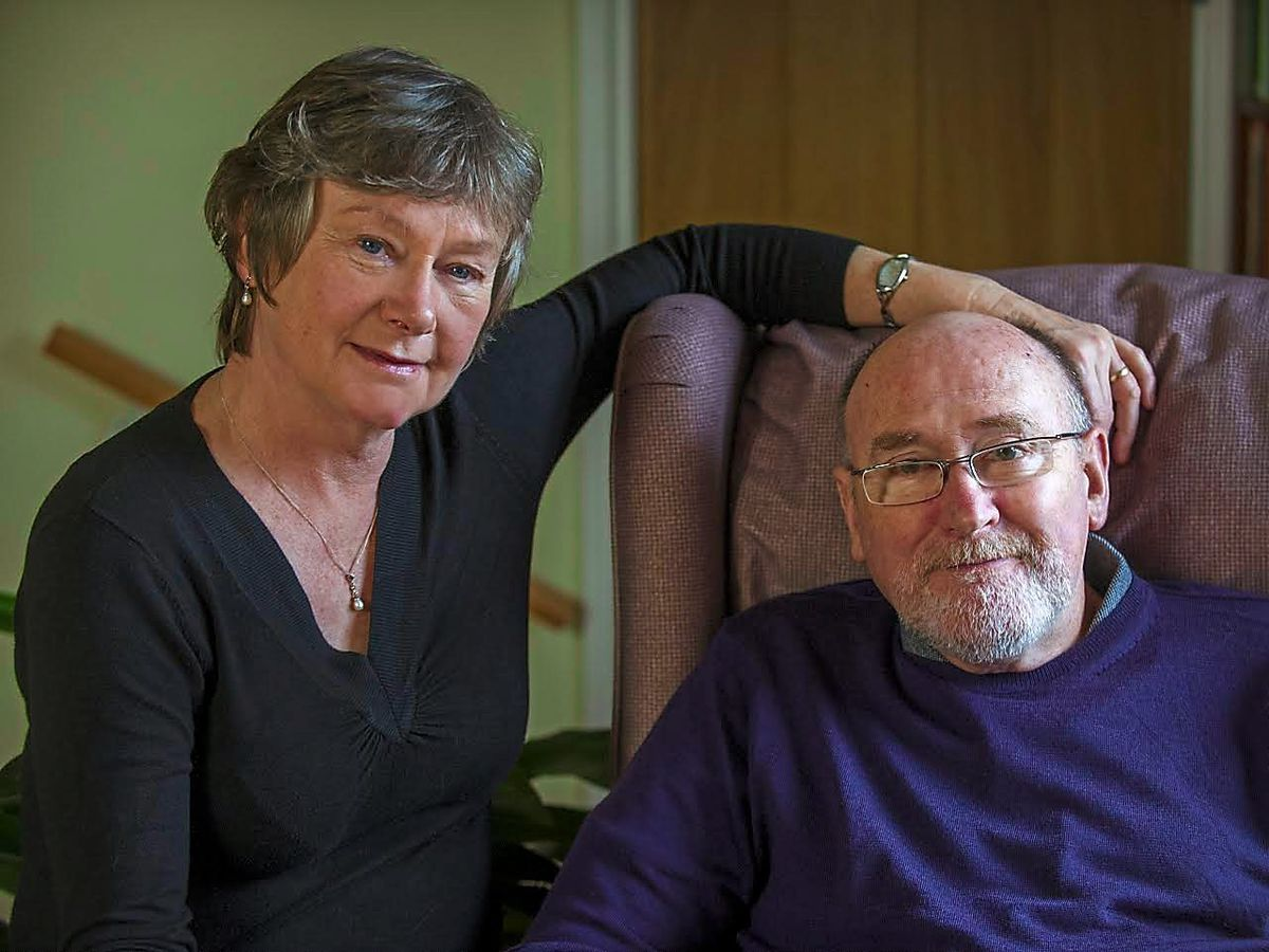 Noel Conway with his wife Carol