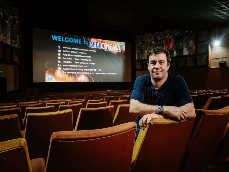 "Majestic Cinema manager James Frizzell says the £115k government grant is a ""welcome relief"" and will help secure its future"