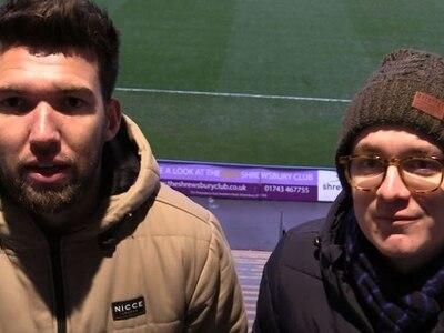 Shrewsbury Town 2 Wycombe 1: Richard Fletcher and Lewis Cox analyse comeback win - VIDEO