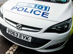 Car overturns in Oswestry crash