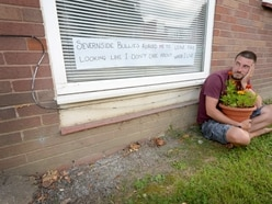 Gardener blooming fed up after being ordered to remove pots