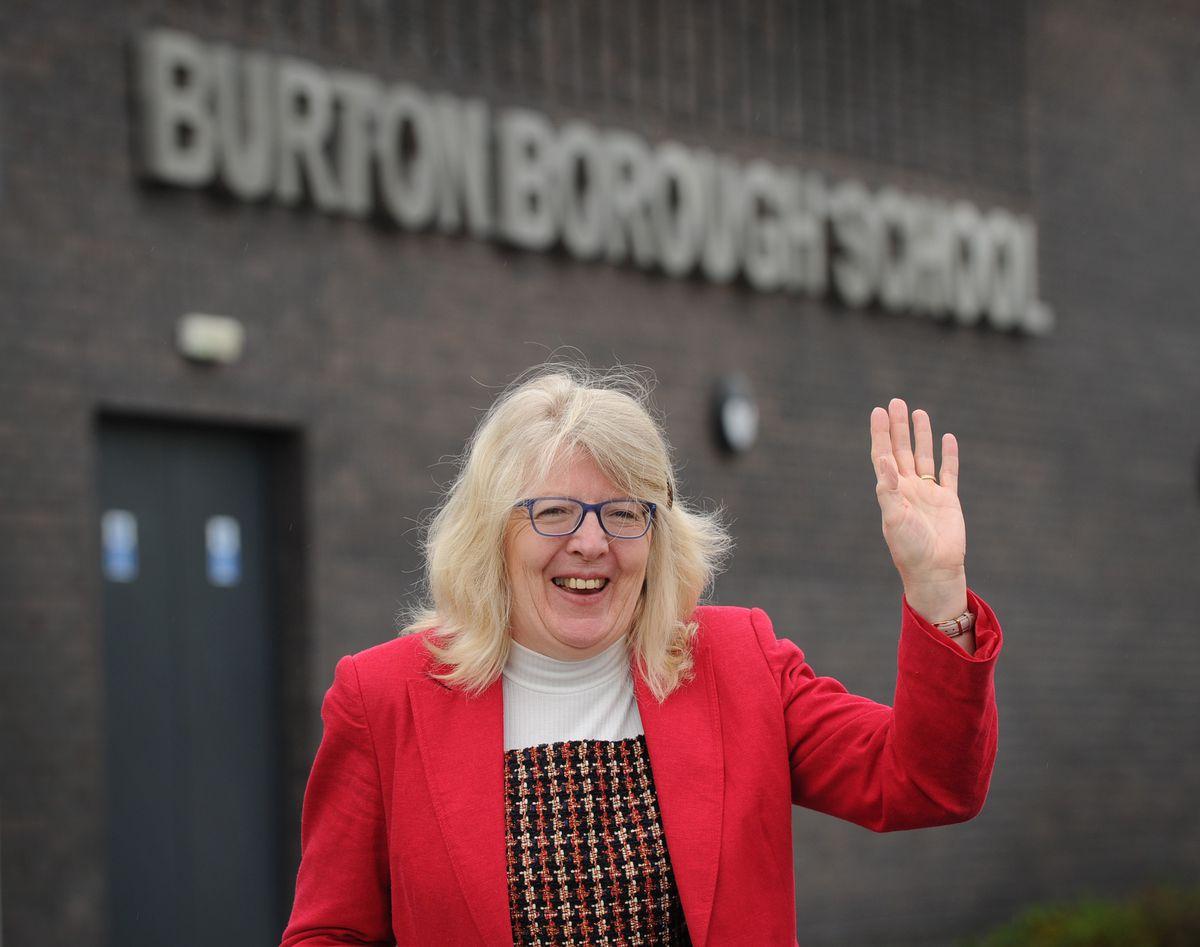 Philippa Pickering is retiring after 16 years at Burton Borough School