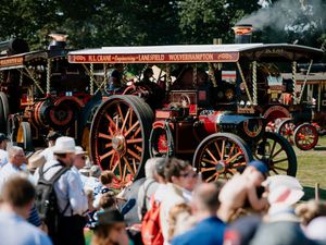 SHREWS COPYRIGHT SHROPSHIRE STAR JAMIE RICKETTS 25/08/2019 - Shrewsbury Steam Rally 2019 at Onslow Park in Shrewsbury..