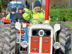 Top turnout for charity tractor run near Bridgnorth