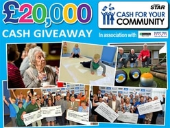Cash For Your Community 2018 - who do you want to get a share of our £20,000 giveaway?