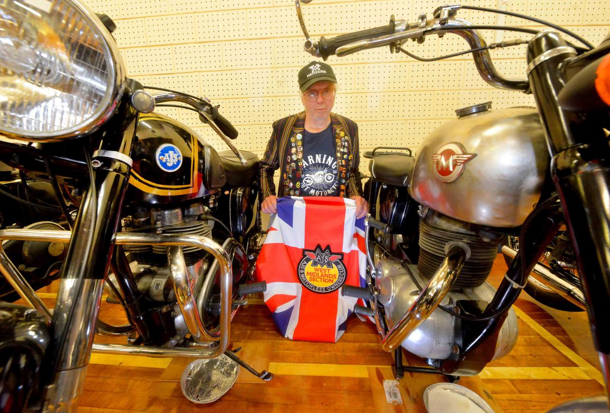 Colin Tolley from Cleobury Mortimer and the AJS &  Matchless Owners Club