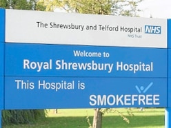 Less than half of staff at Shropshire's major hospitals would be happy with standard of care if relative needed treatment