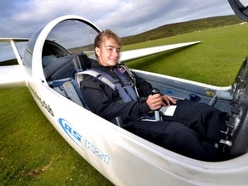 Flying high: Shropshire schoolgirl Holly is a glider pilot at just 15 - with video and pictures