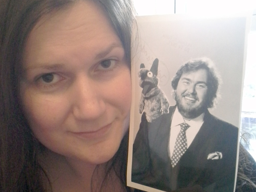 Shrewsbury author's 'love letter' to comedy actor