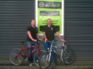 Charity gets on its bike to sell cycles