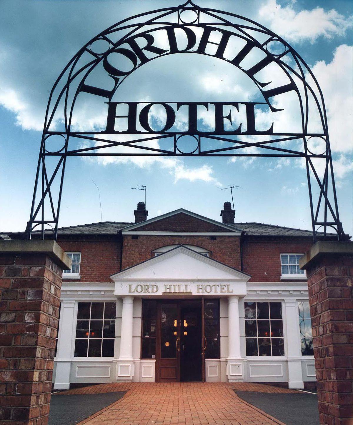 The former Lord Hill Hotel, Shrewsbury