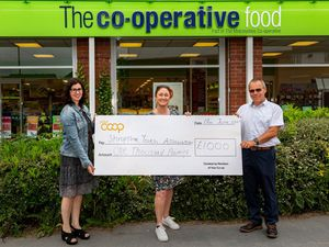 The Midcounties Co-operative has given £1,000 to Shropshire Youth Association to help form a youth club in the area