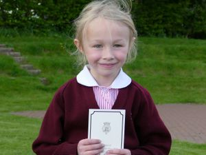 Isla Edwards received a thank you letter from Buckingham Palace after asking if she could help following the death of Prince Philip