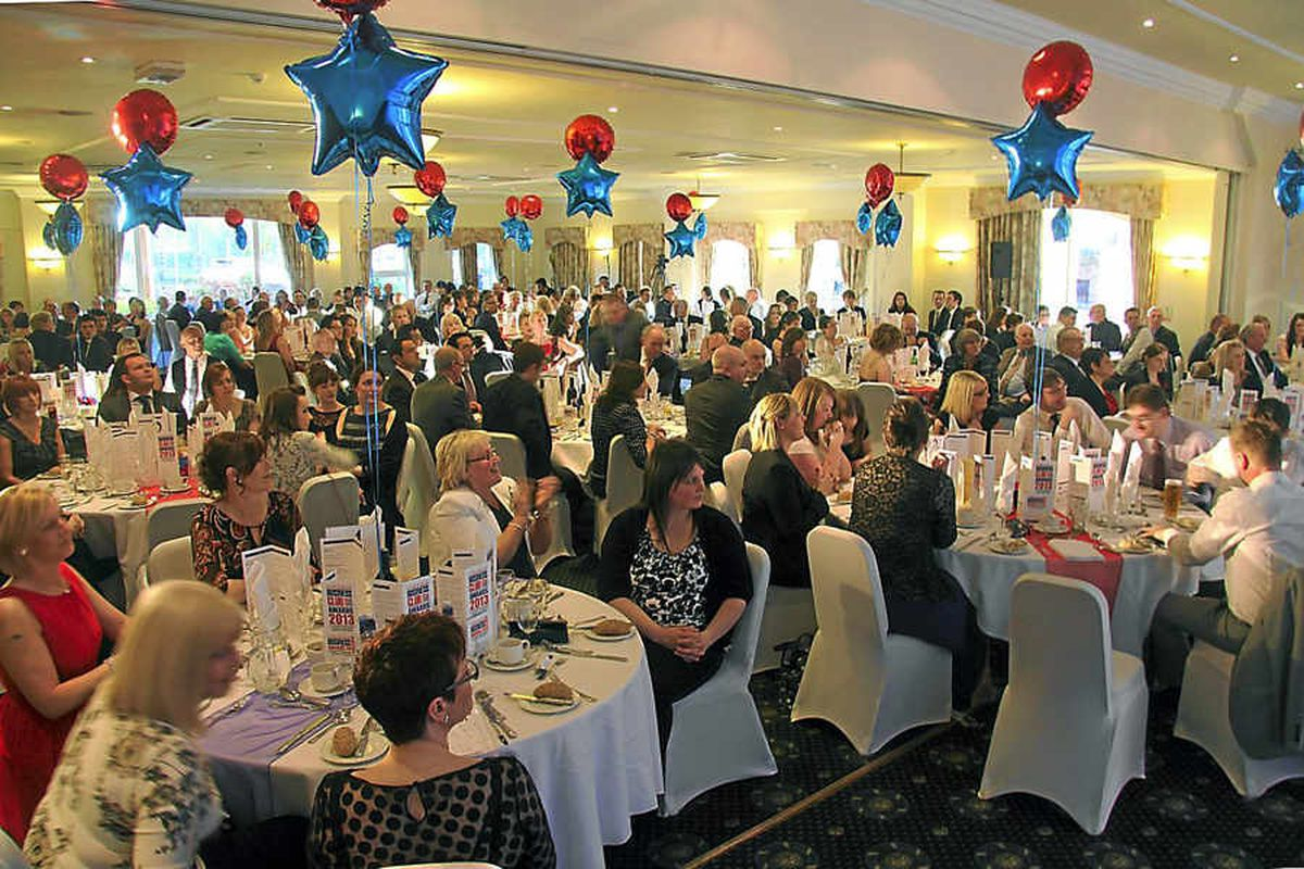 Contenders and their guests enjoy the evening's celebrations at the award ceremony, held at the Lion Quays Hotel and Resort