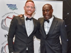 Bruno is a knockout at sporting dinner