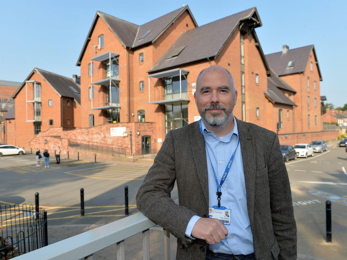Head of Shrewsbury's University Centre, Professor Paul Johnson