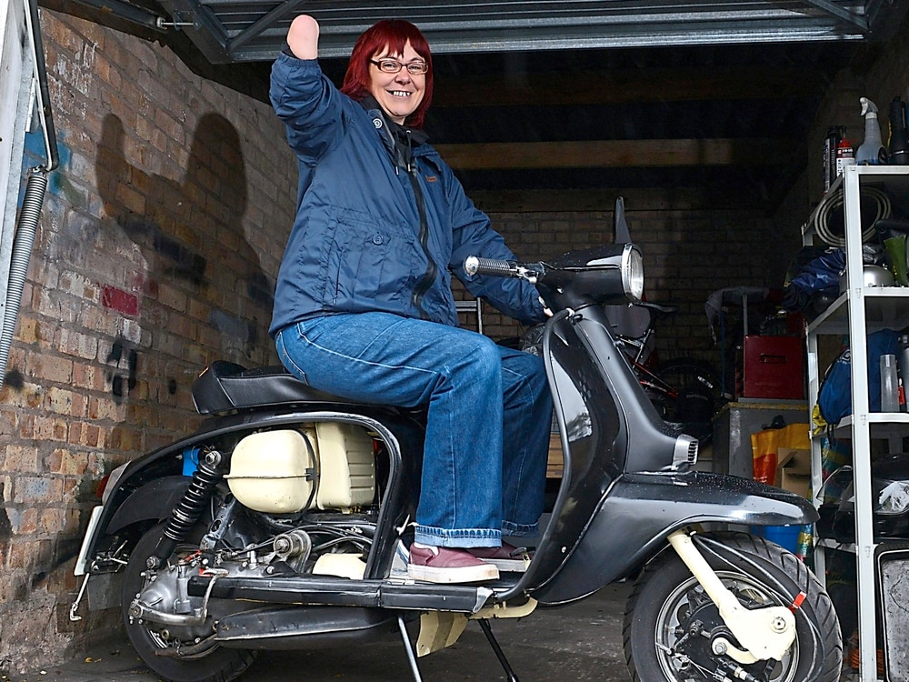 Scooter riders rev up for a bash to raise funds for Telford woman