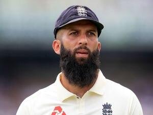 England's Moeen Ali.