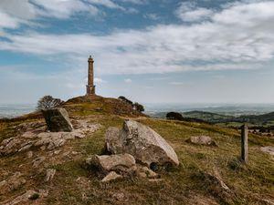 Rodney's Pillar on top of Breidden Hill