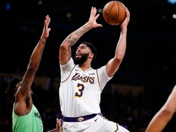 Davis matches James and Bryant record with 50 points as Lakers down Timberwolves