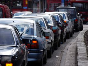 """Stock picture of a traffic jam during the school run. Drivers on the school run are regarded as worse drivers than """"white van man"""" or motorcyclists, according to a new survey, Friday September 2, 2005. A poll of 70,000 adults showed that most believed people who took their children to the school gates every day were the most careless behind the wheel. See PA story INDUSTRY Drivers. PRESS ASSOCIATION photo. Photo Credit should read: Andy Butterton/PA"""