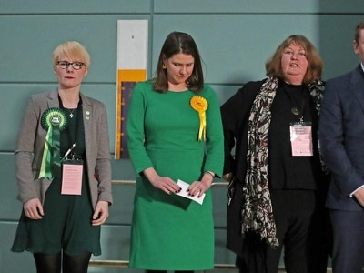 Jo Swinson hints woman should replace her as Lib Dem leader