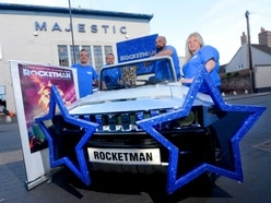 WATCH: Elton's Rocketman premiere car built by Bridgnorth firm