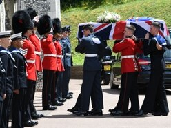 Telford soldier's key role as country says goodbye to Dame Vera Lynn