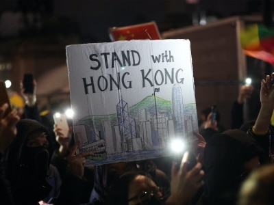 China warns of 'corresponding measures' over UK 'interfering' in Hong Kong