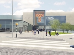 Finishing touches to Telford Shopping Centre's Fashion Quarter