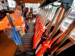 Full steam ahead as workers prepare Severn Valley Railway for reopening
