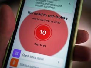 Coronavirus test and trace app