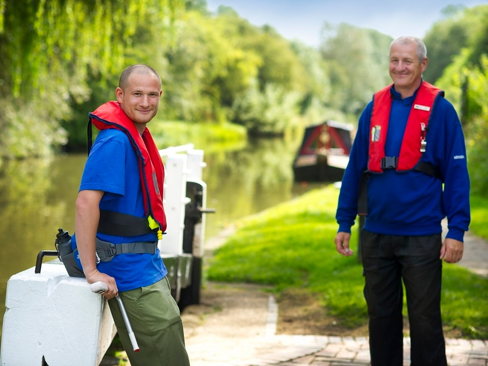 Lend a hand as a lock keeper on canals in Shropshire and Mid Wales