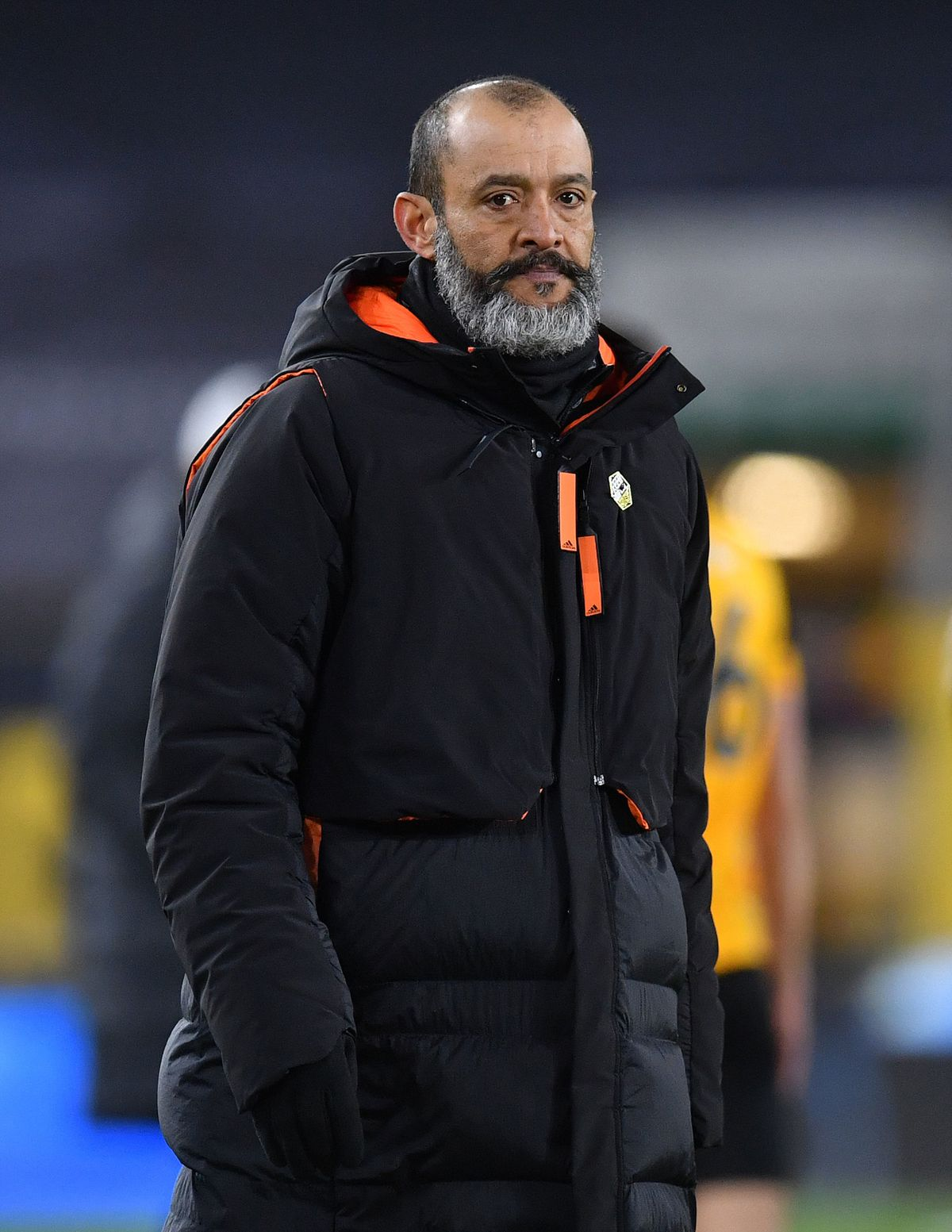 """Wolverhampton Wanderers manager Nuno Espirito Santo after the Premier League match at Molineux Stadium, Wolverhampton. Picture date: Monday March 15, 2021. PA Photo. See PA story SOCCER Wolves. Photo credit should read: Paul Ellis/PA Wire.   RESTRICTIONS: EDITORIAL USE ONLY No use with  unauthorised audio, video, data, fixture lists, club/league logos or """"live"""" services. Online in-match use limited to 120 images, no video emulation. No use in betting, games or single club/league/player publications."""