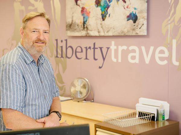 Roger Blake, director of Liberty Travel in Oswestry