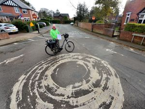 Bernie Bentick, from the Meole Traffic Group, is campaigning to make roads safer in the area