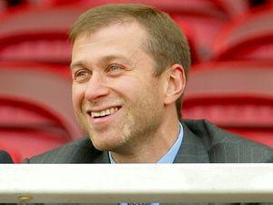 UNLIKELY . . . Chelsea's Russian billionaire Roman Abramovic