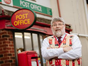Postmaster John Ashton of Bowere Heath Post Office is retiring after 19 years