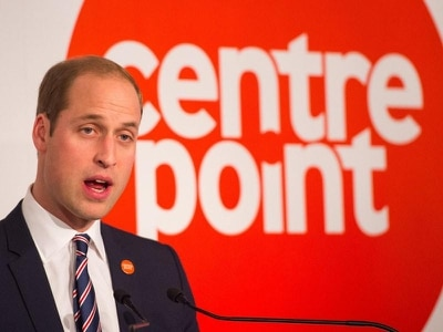William to mark 50th anniversary of youth homeless charity Centrepoint
