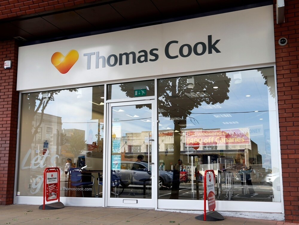 Hays Travel Purchases Empty Thomas Cook Shops