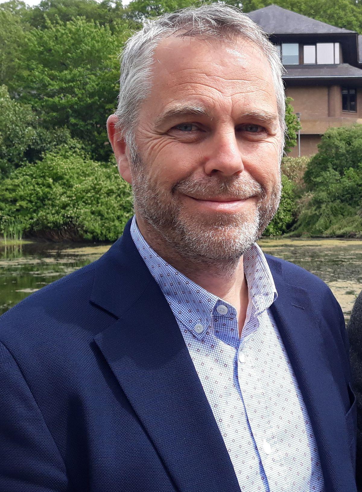 Cllr Elwyn Vaughan, Plaid Cymru group leader on Powys County Council