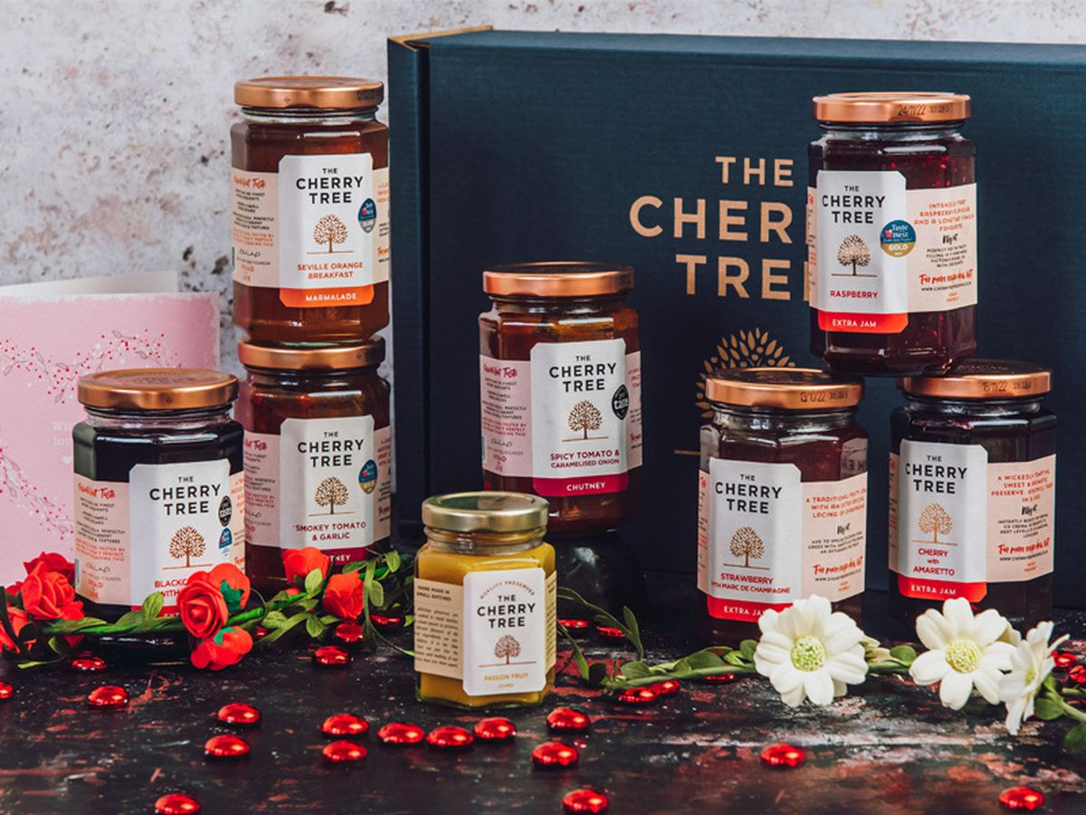 Cherry Tree Breakfast in Bed giftbox