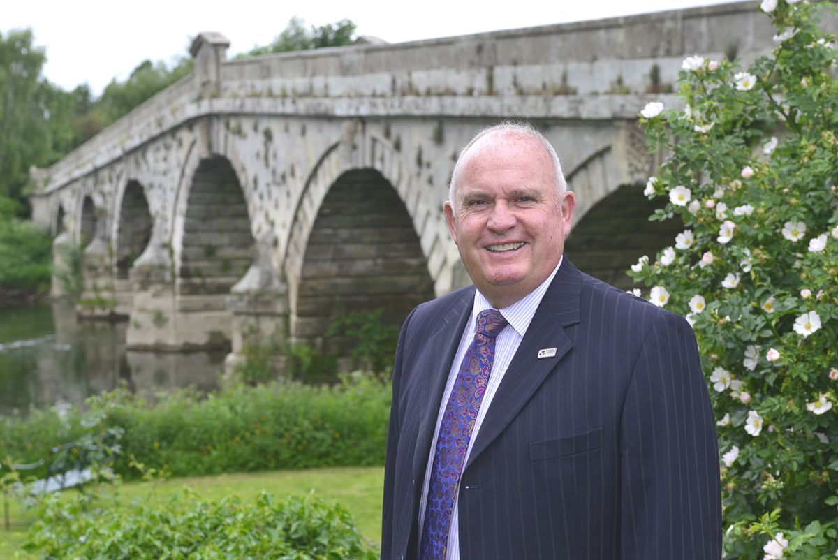 Richard Sheehan, chief executive of the Shropshire Chamber of Commerce