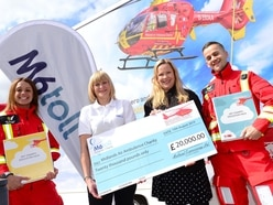 Air ambulance scoops £20,000 prize