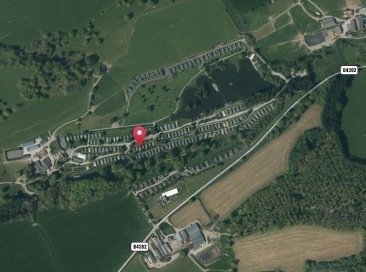 Hidden Valley holiday park near Guilsfield - from UK Grid Reference Finder